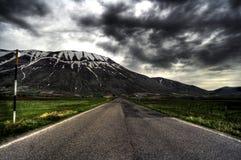 Route à l'enfer Images libres de droits