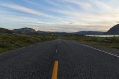 Route à l'extrémité Photographie stock