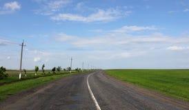 Route à l'horizon Images libres de droits