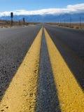 Route à l'inconnu images stock