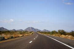 Route à l'infini Photo libre de droits