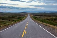 Route à l'infini Image libre de droits