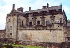 Route à l'ouest de l'Ecosse à Stirling Castle L'intérieur des bâtiments et des châteaux antiques Photo libre de droits