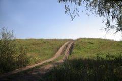 Route à la maison Photos libres de droits