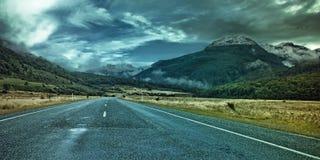 Route à la montagne Image libre de droits