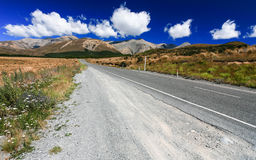 Route à la montagne Photos stock