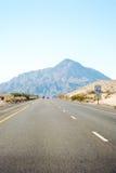 Route à la montagne Images libres de droits