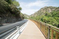 Route à la nature Image libre de droits