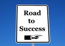 Route à la réussite Image libre de droits