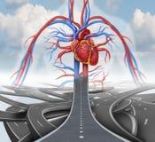 Route à la santé illustration de vecteur