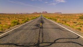 Route à la vallée Photographie stock libre de droits