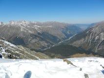Route à la ville de Nalchik Photographie stock