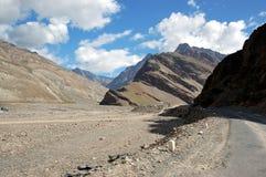 Route à Ladakh Photos stock