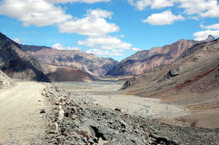 Route à Ladakh II. Image libre de droits