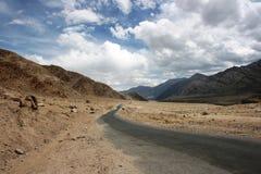 Route à Leh Photos stock