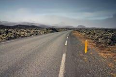 Route à nulle part photographie stock