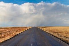 Route à nulle part Images libres de droits