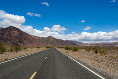 Route à nulle part Photo stock