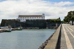 Route à Ponta Delgada, sao Miguel d'île Images stock