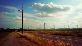 Route à quelque part Image stock