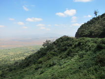 Route à Rift Valley Images stock