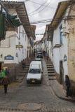 Route à San Blas Cuzco Images stock