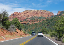 Route à Sedona Photo libre de droits