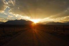 Route à temps Photo libre de droits
