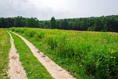 Route à travers une zone Image libre de droits