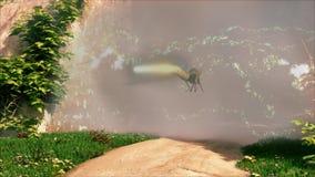Route à un brouillard magique clips vidéos