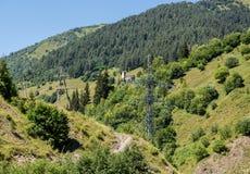Route à Ushguli Image stock