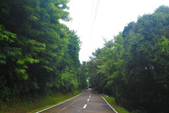 Route étroite Images libres de droits