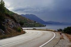 Route 08 de côte Photos libres de droits