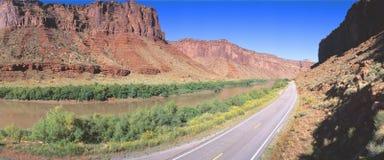 Route 128 Arkivfoton