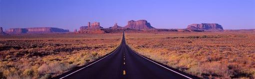 Route 163 Stock Foto's
