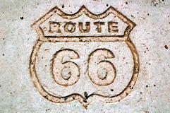 Route 66-1 Royalty-vrije Stock Afbeeldingen