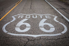 Route 66 Royalty-vrije Stock Foto