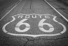 Route 66 royaltyfria foton