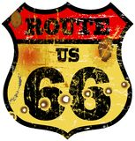 route 66 stock illustratie