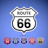 Route 66. Royalty-vrije Stock Foto's