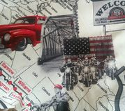 Route 66 Royalty-vrije Stock Foto