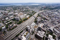 Route #5 in Seattle Royalty Free Stock Photo
