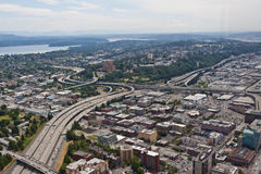 Route #5 in Seattle Stock Images