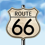 Route 66 vector illustratie