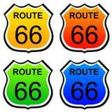 Route 66 royalty-vrije illustratie