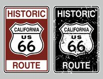 Route 66 royalty free illustration