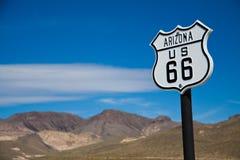 Route 66. Historic route 66, Arizona, United States Stock Photo