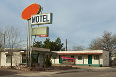 Route 66. USA, Old motel at scenic Route 66 Royalty Free Stock Images