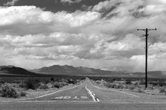 Route 66, CA Stock Images