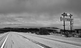 Route 66, CA Royalty-vrije Stock Foto's